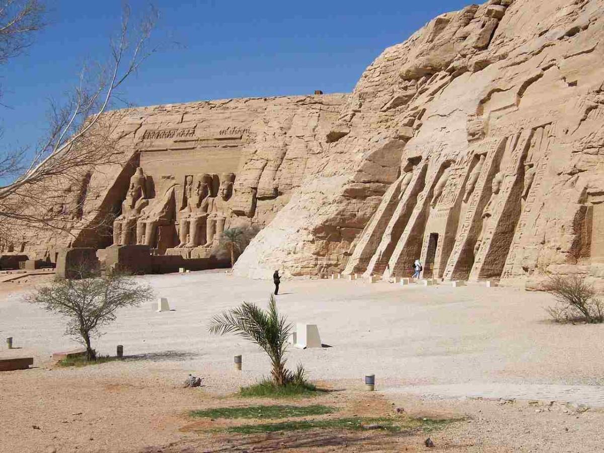 Панорамная точка Абу-Симбел