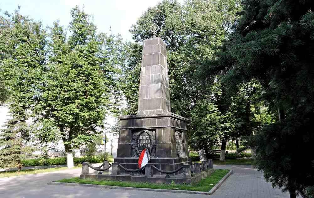 Мемориал жертвам восстания 1918 года