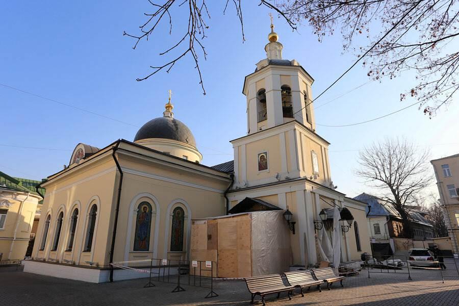 Церковь святого апостола Иакова в казенной Слободе