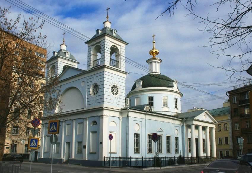 Церковь Успения Богородицы на Могильцах