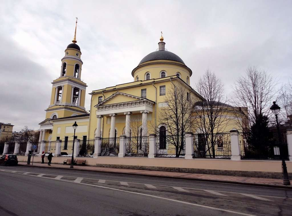 Большая Вознесенская церковь на Никитских Воротах