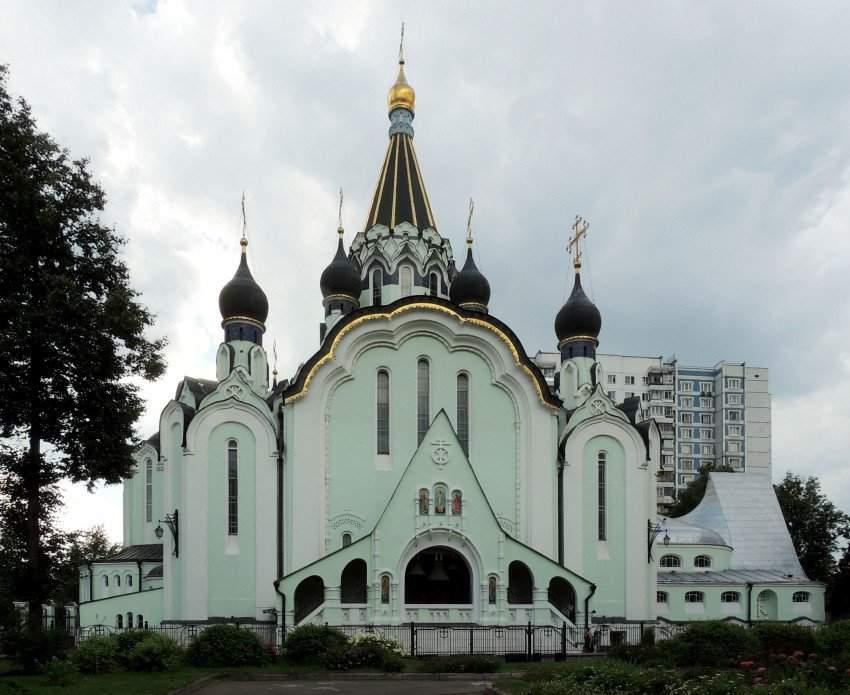 Церковь Воскресения Христова в Солкольниках