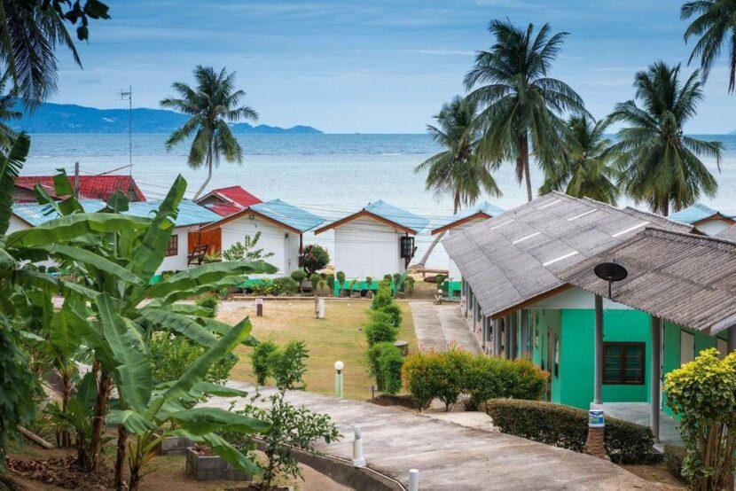 вид на пляж Бан Кай