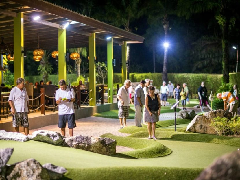 Приключенческий мини-гольф
