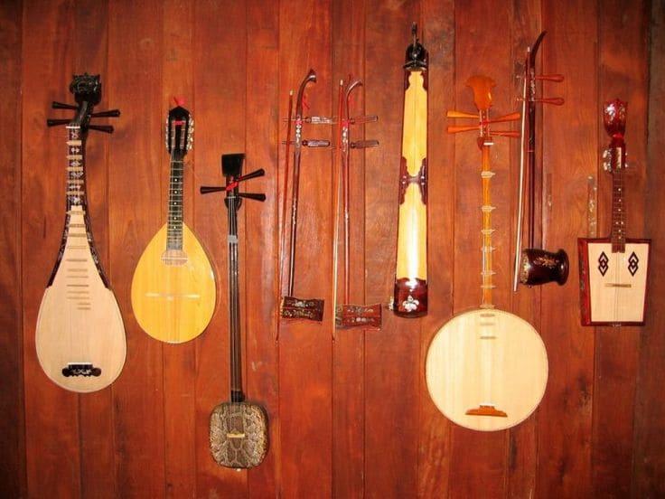 Вьетнамские Музыкальные Инструменты
