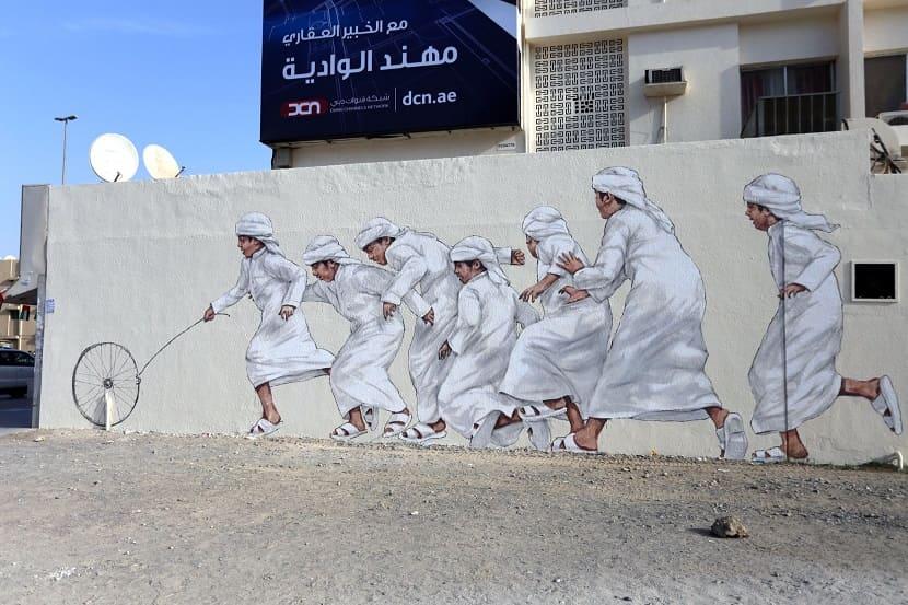 Dubai street museum