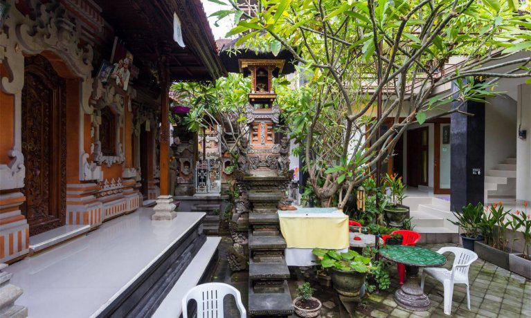 Пешеходные улицы на Бали Poppies Lane
