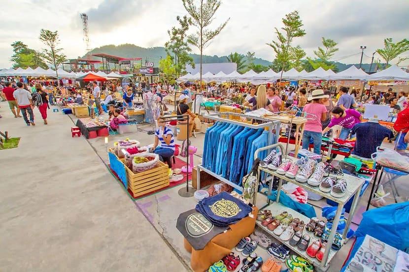Local markets in Phuket