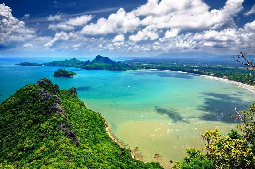 Ao Manao Beach in Prachuap Hiri Khan