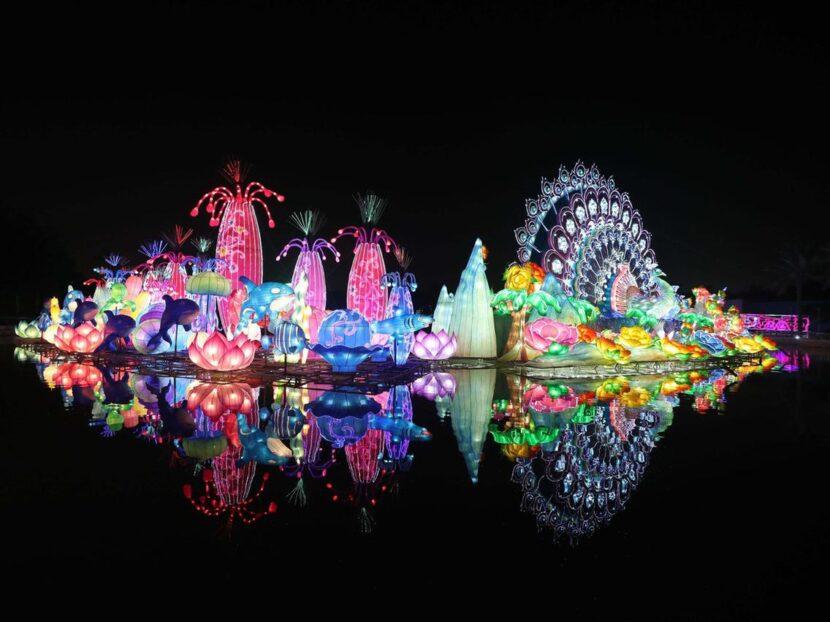 Dubai Glowing Garden