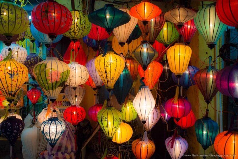 Вьетнамские фонарики