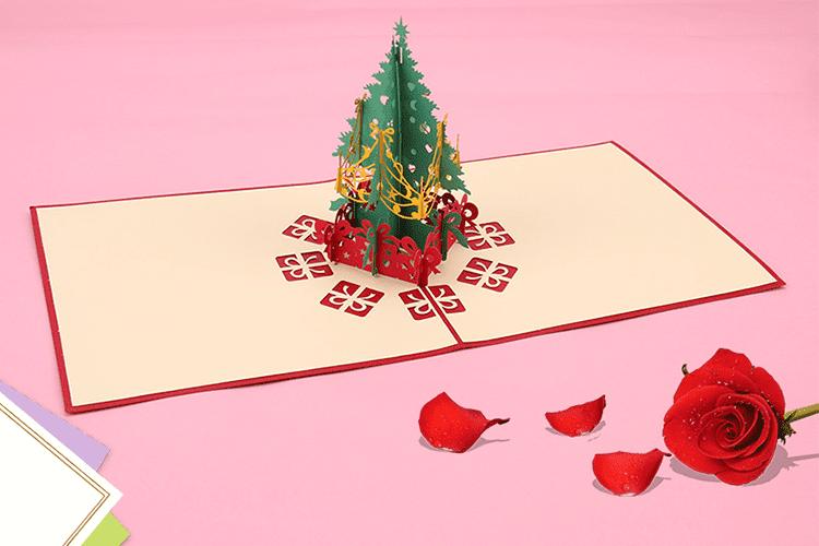 3D поздравительная открытка