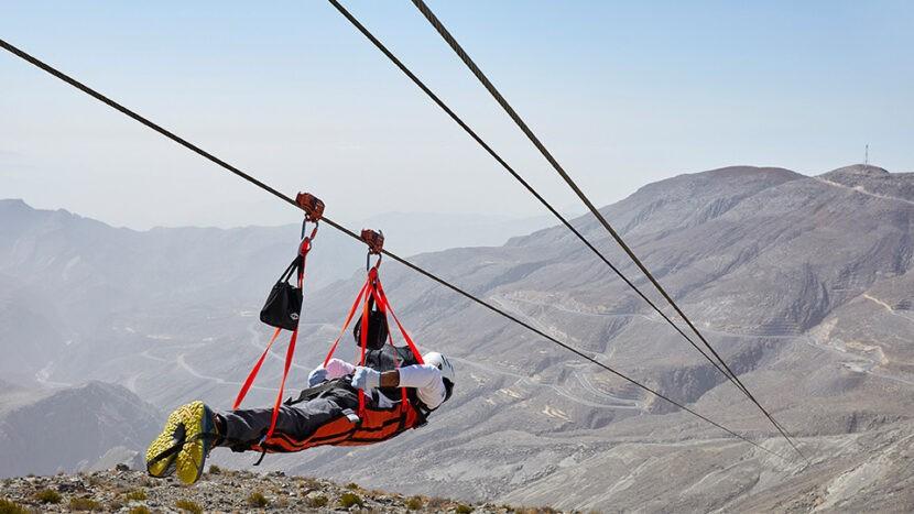 Zipline Jebel Jais