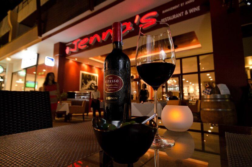 Бистро Дженны и вино