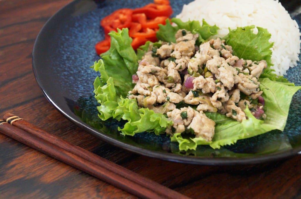 Лааб (Тайский Мясной Салат)