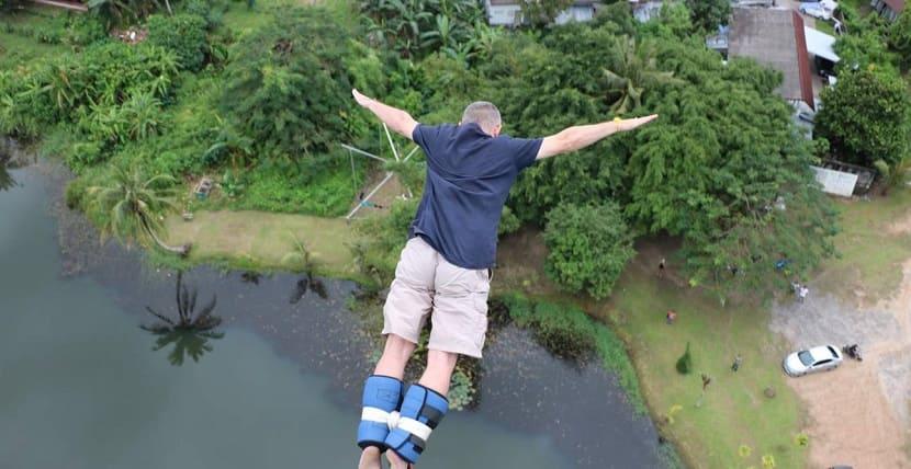 Банджи прыжки
