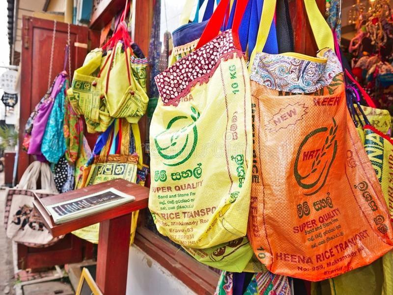 Многоразовые мешки из мешков с рисом
