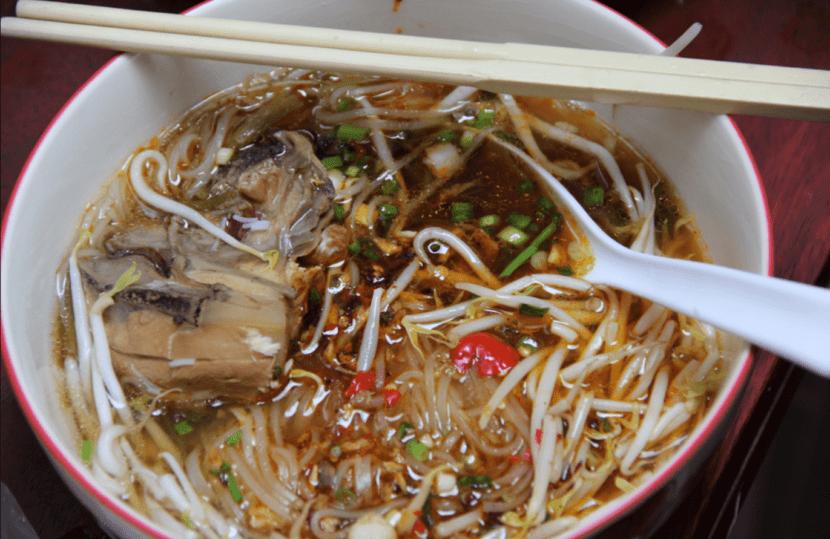 Куай тью (суп с лапшой)