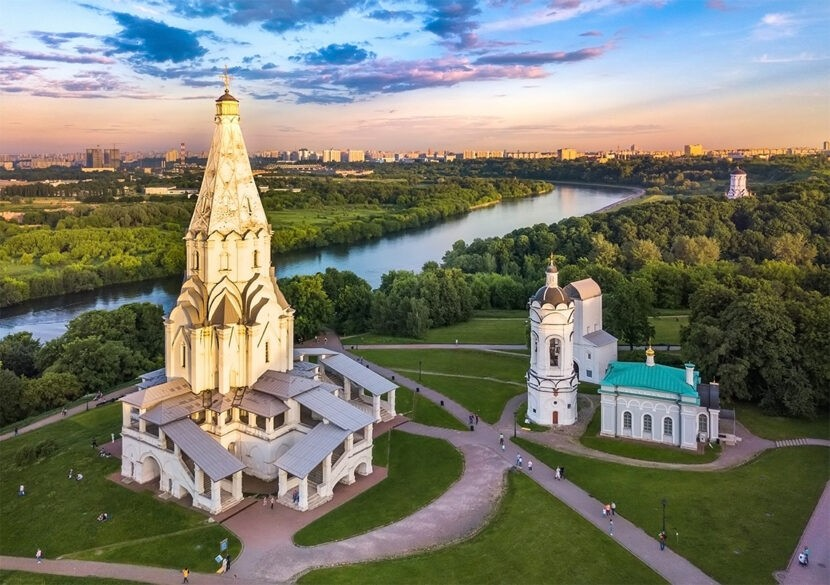 Коломенский парк в Москве - где находится, как добраться, фото