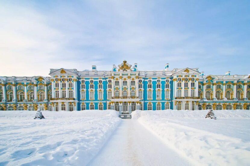 Екатерининский дворец в Санкт-Петербурге - где находится, как добраться, фото