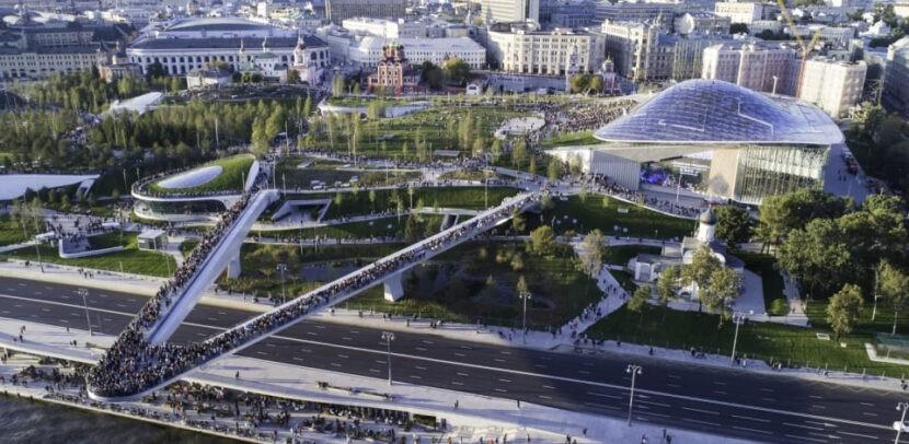 Парк Зарядье в Москве - цена билета, как добраться, где находится, фото