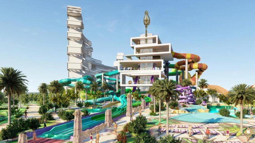 Аквапарк Aquaventure в Дубае - цены, где находится, как добраться, фото