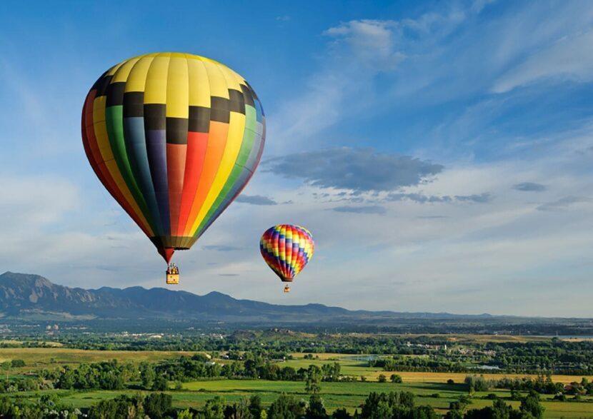 Полеты на воздушном шаре в Кандаламе