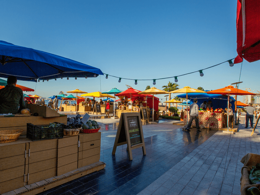 Рынок на пляже
