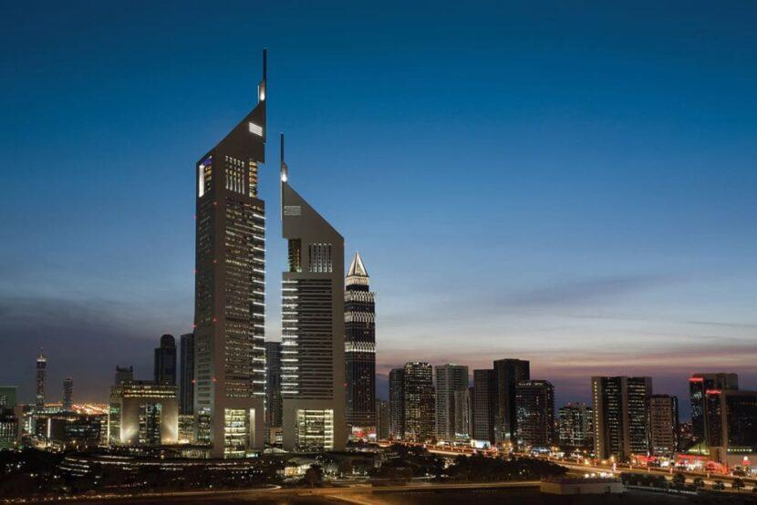 Башня Jumeirah Emirates Tower