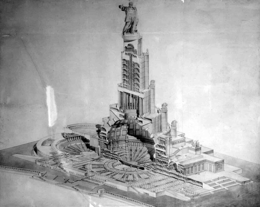 Воссоздание Дворца Советов
