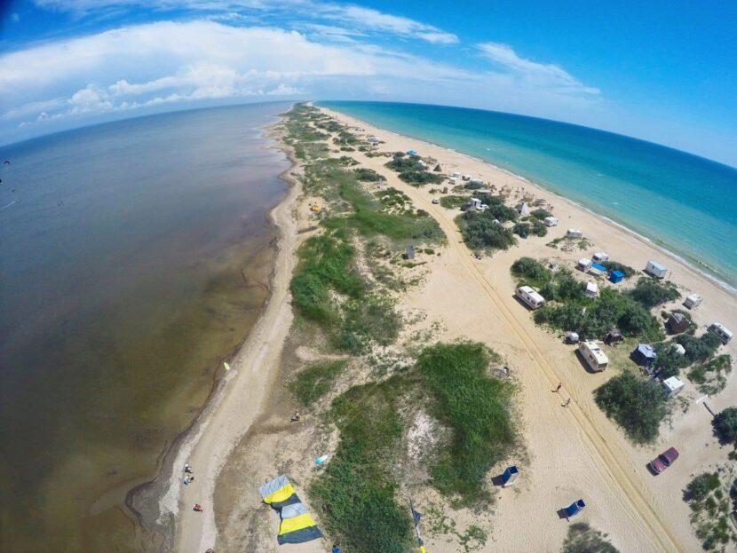 Веселовка пляж