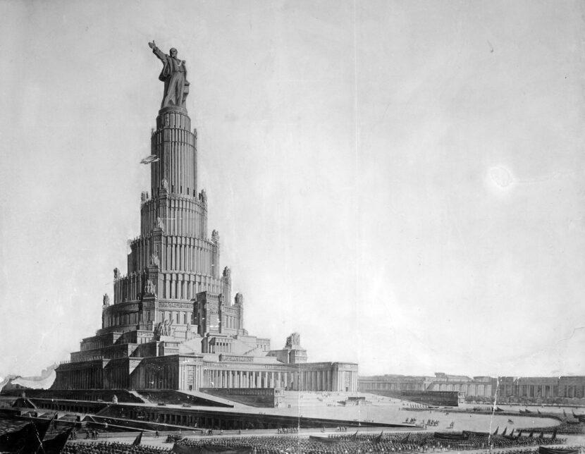 Дворец Советов 1930