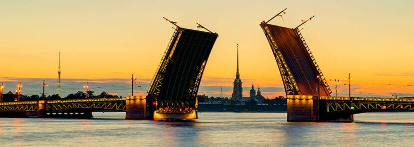Мосты в Питере