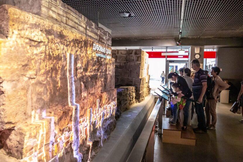 Археологический Музей-Парк Зарядье