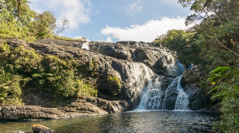 Bambarakanda Waterfall, Ohia