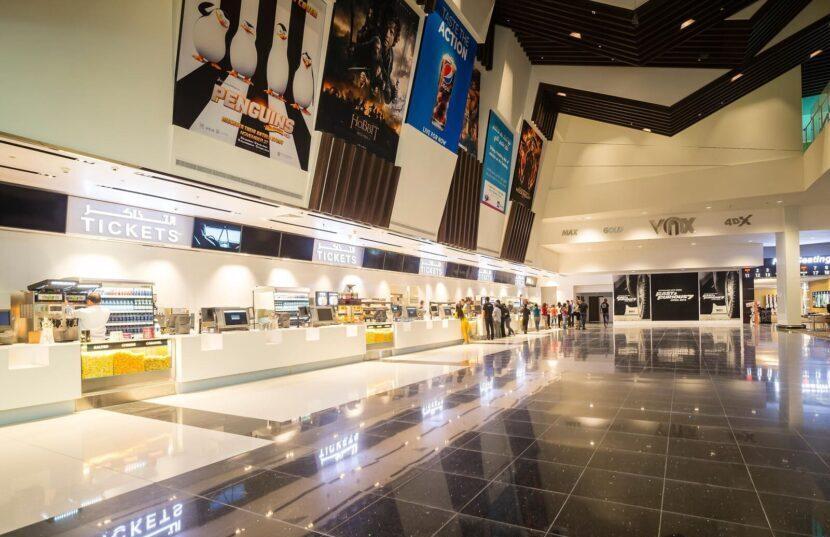 кинотеатр в dubai mall