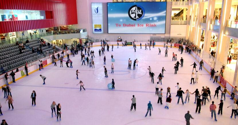 Дубайский ледовый каток