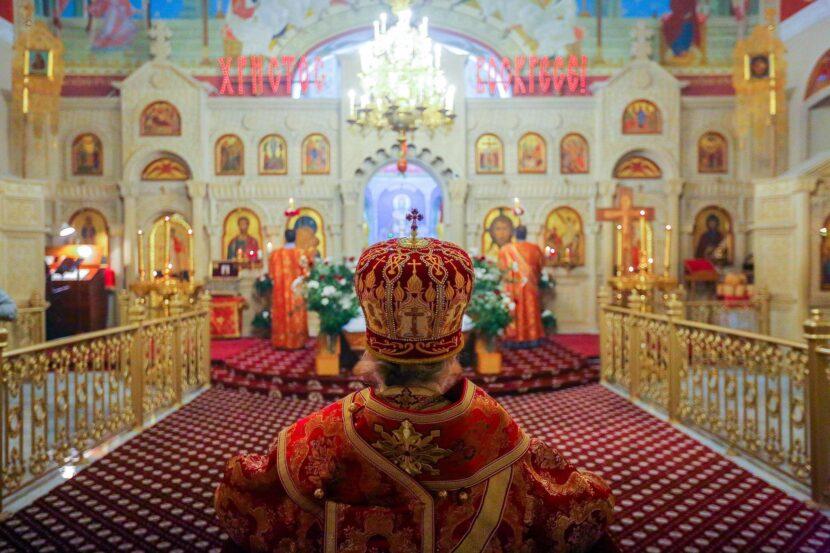 Православная Месса в Храме Христа Спасителя