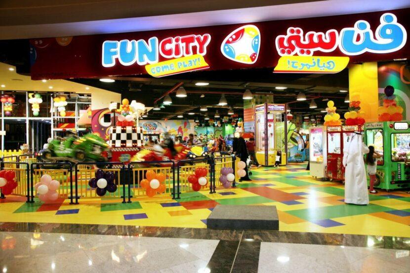Fun City-Kids Play Area