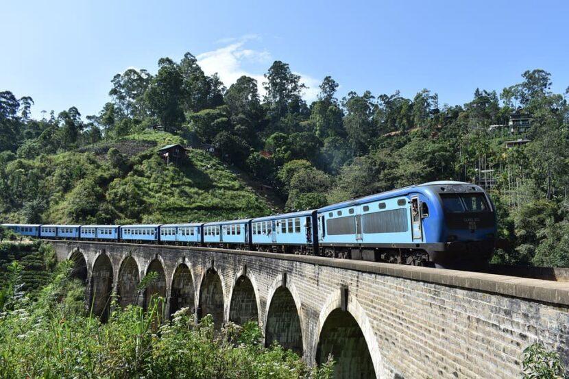 Путешествие на поезде Канди-Элла
