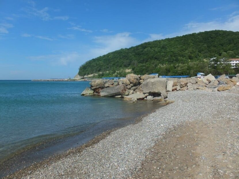 Джубга пляж