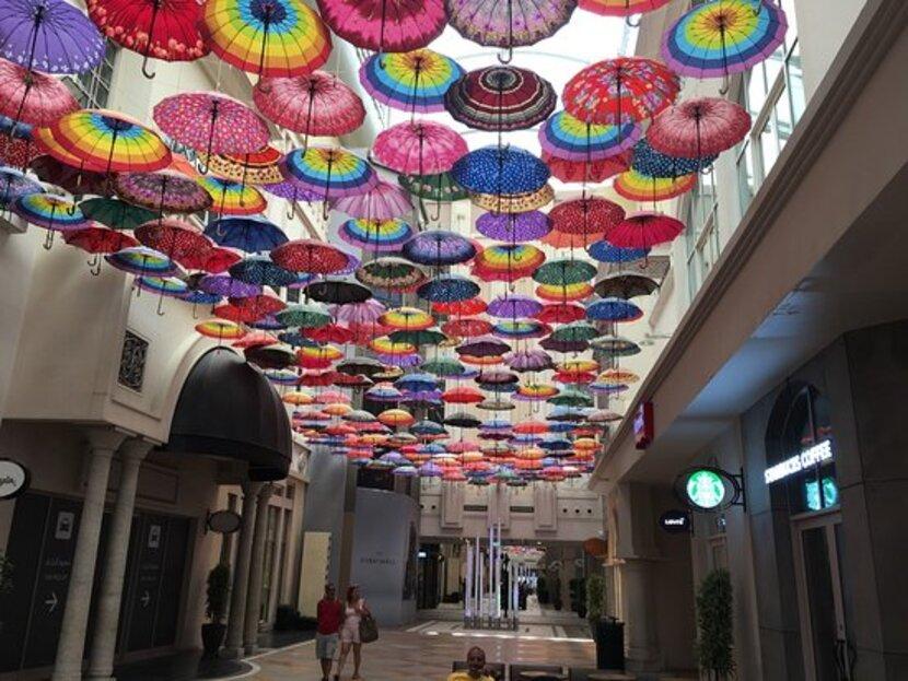 Зонтичный потолок