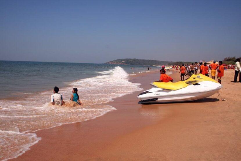 пляж Каландут