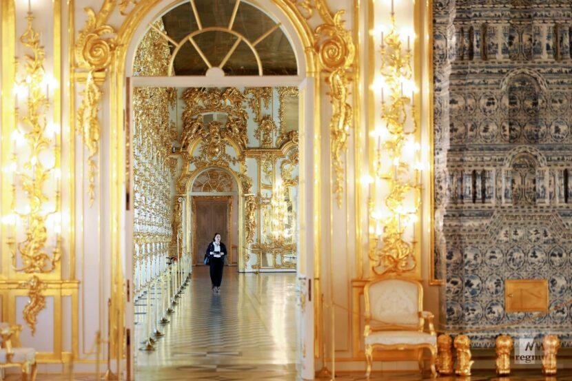 Екатерининский дворец в Санкт-Петербурге-Янтарная палата