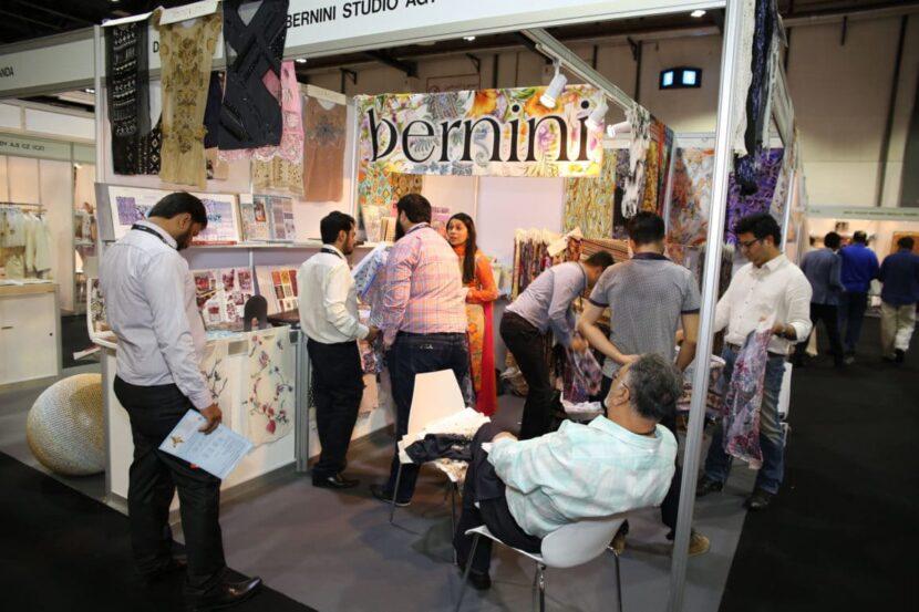 Текстильная выставка