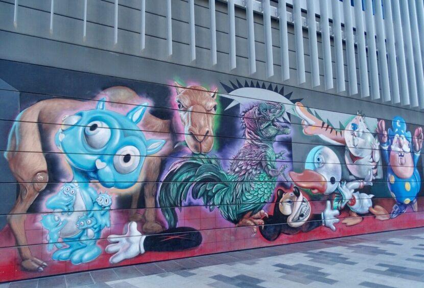 фотографии уличного искусства