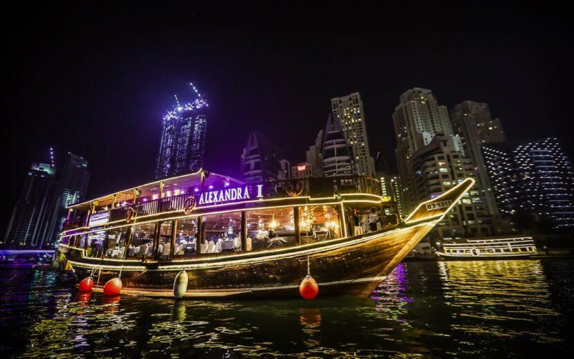 Круиз Alexandra dhow cruise Dubai marina