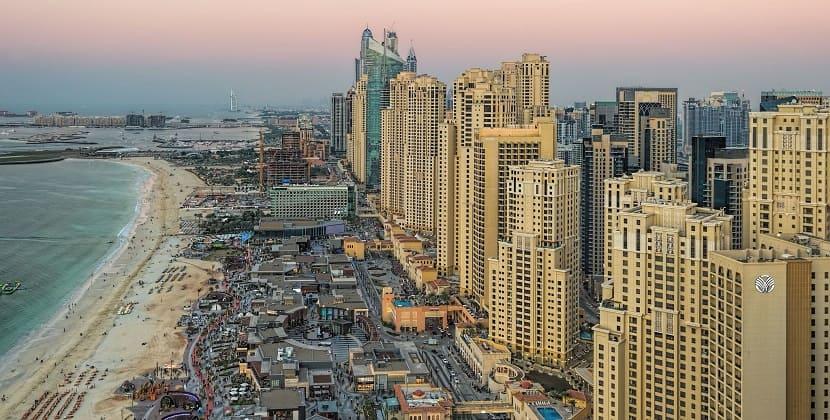 Дубай Марина JBR