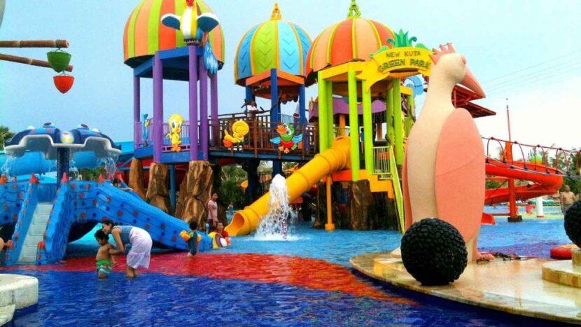 Аквапарк Цирк на Бали