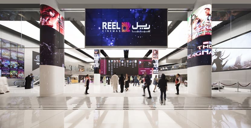 Reel Cinemas Dubai Mall кинотеатр